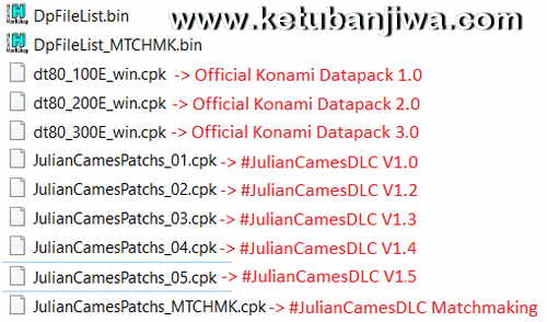 PES 2016 Julian Cames DLC v1.5 Compatible Datapack 3.0 Preview Ketuban Jiwa