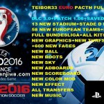 PES 2016 PS3 Full EURO Patch DLC 3.0 by TEIBOR33