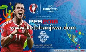 PES 2016 PS3 EURO 2016 France Menu Gembox Patch 3.0