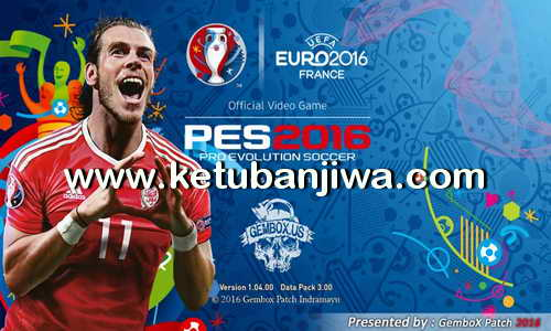 PES 2016 PS3 EURO 2016 France Menu For Gembox Patch 3.0 Ketuban Jiwa
