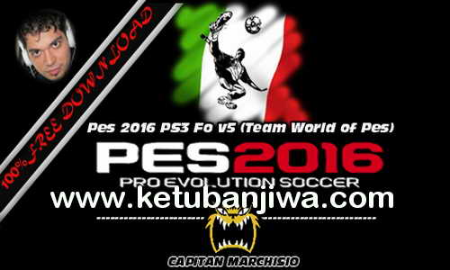 PES 2016 PS3 Option File v5 by World Of PES Ketuban Jiwa