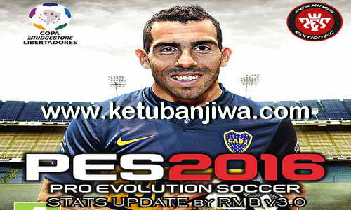 PES 2016 PSD Stats 3.0 For PTE Patch 5.1 by RMB Ketuban Jiwa