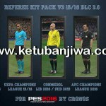 PES 2016 Referee Kitpack v3 DLC 3.0 by CRONOS
