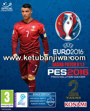 PES 2016 SASHA Patch 1.1 + Fix Update DLC 3.0 Ketuban Jiwa