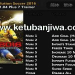 PES 2016 v1.04 Plus 7 Trainer Tool by FLiNG