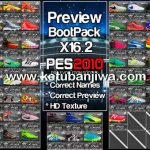 PES 2010 Bootpack Update X16.2 by PESEdit Style