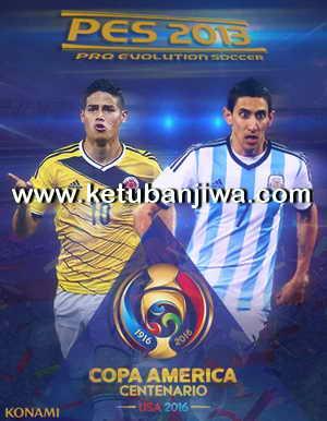 PES 2013 Copa America Centenario 2016 Patch by APP2013 Ketuban Jiwa
