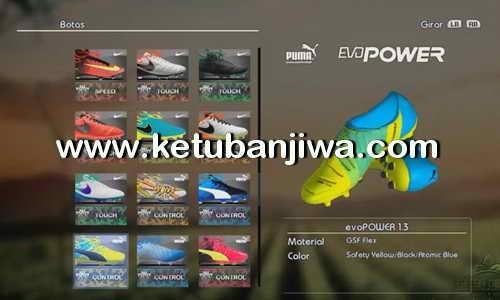 PES 2013 New Bootpack 3.0 Season 16-17 by Carlos Chumacero Ketuban Jiwa