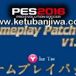 PES 2016 GamePlay Patch v1.01 by Yaku & IceTea