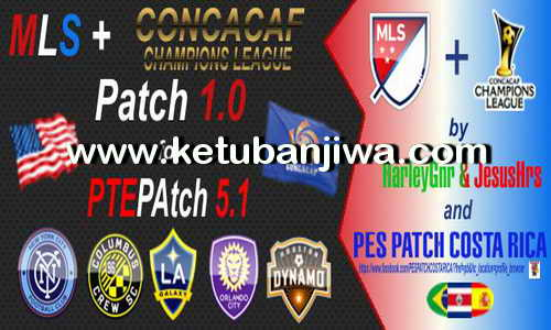 PES 2016 MLS + CONCACAF Patch v1.0 For PTE Patch 5.1 Ketuban Jiwa
