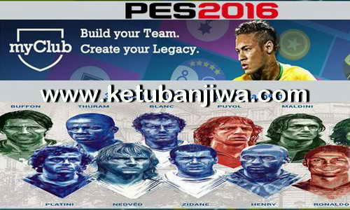 PES 2016 MyClubPlayer 414 Real Photo + Fifa Cards Ketuban Jiwa