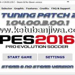 PES 2016 PES Tuning Patch v1.04.00.3.00.1 AIO