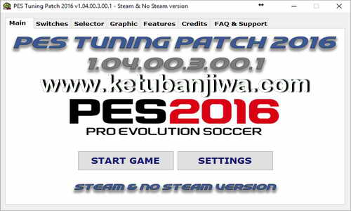 PES 2016 PES Tuning Patch v1.04.00.3.00.1 AIO Ketuban jiwa