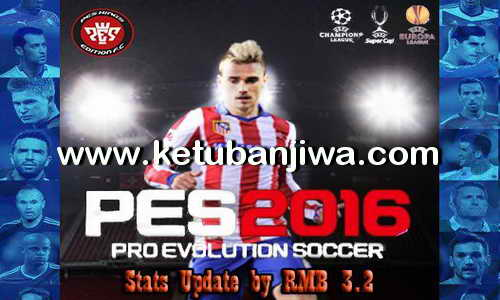 PES 2016 PSD Stats 3.2 For PTE Patch 5.1 by RMB Ketuban Jiwa