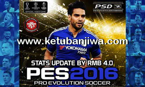 PES 2016 PSD Stats 4.0 For PTE Patch 5.1 by RMB Ketuban Jiwa