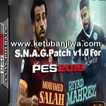 PES 2016 S.N.A.G Patch v1.0