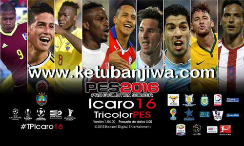 PES 2016 TP Icaro Update 2.0 by TricolorPES Ketuban Jiwa