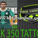 PES 2016 Tattoo Pack 350 by Marcéu
