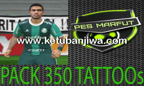 PES 2016 Tattoo Pack 350 by Marcéu Ketuban Jiwa