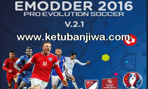 PES 2016 eModder Patch 2.1 Update Ketuban Jiwa