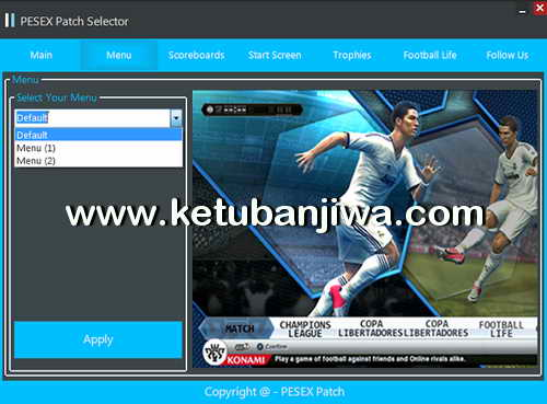 PES 2013 PESEX Patch v1 Season 2016-2017 Ketuban Jiwa Preview 1