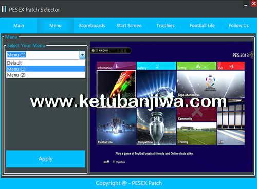 PES 2013 PESEX Patch v1 Season 2016-2017 Ketuban Jiwa Preview 2