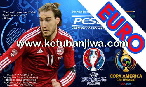 PES 2013 PESEdit 8.1 Big Update EURO 2016 + Copa America by PESMod Studio Ketuban Jiwa