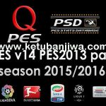 PES 2013 QPES Patch v14 Season 2015-2016