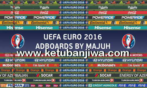 PES 2016 Adboard Pack 1.5 Final Version by Majuh UEFA UERO 2016 Adboards Ketuban Jiwa