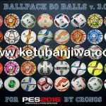PES 2016 Ballpack 50 Balls v3.0 by cRoNoS