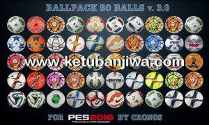PES 2016 Ballpack 50 Balls v3.0 by cRoNoS