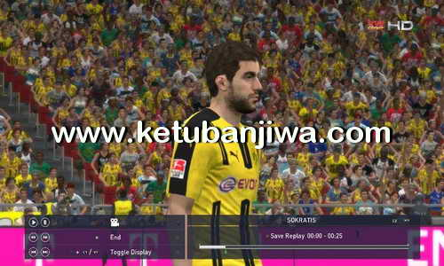 PES 2016 Dunksuriya Patch 5.6 Update Ketuban Jiwa