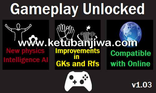 PES 2016 GamePlay Unlocked v1.03 Very Hardcore AI by Moba Ketuban Jiwa