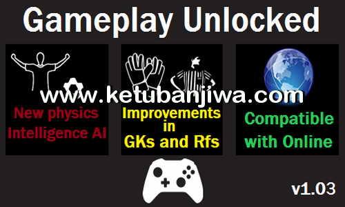 PES 2016 GamePlay Unlocked v1.03 Very Hardcore AI by Moba Ketuban Jiwa