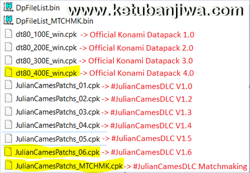 PES 2016 Julian Cames DLC v1.6 Compatible Data Pack 4.0 Ketuban Jiwa Preview