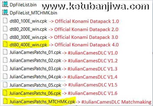 PES 2016 Julian Cames DLC v1.6 Compatible Data Pack 4.0 Ketuban Jiwa Preview