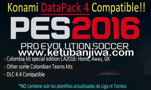 PES 2016 Julian Cames DLC v1.6 Compatible Data Pack 4.0 Ketuban Jiwa