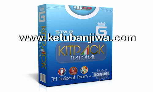 PES 2016 Kitpack National 3.4 AIO by G-Style Ketuban Jiwa