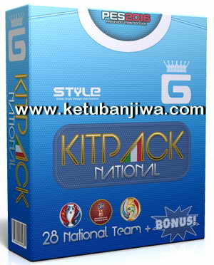 PES 2016 National Kitpack v3.0 AIO by G-Style Ketuban Jiwa