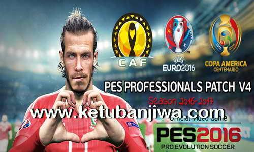 PES 2016 PES Professionals Patch v4 DLC 4.0 Ketuban Jiwa