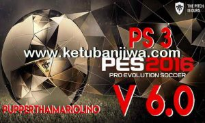 PES 2016 PS3 PupperThai Patch 6.0