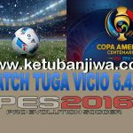 PES 2016 Tuga Vicio Patch 6.4.1 Fix Update