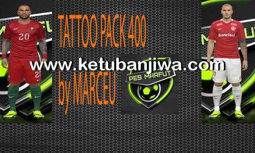 PES 2016 Tattoo Pack 400 by Marcéu Ketuban Jiwa