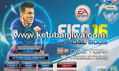 FIFA 16 Advanced GP EVO Manager Tool v4.0 by Doctor+ Ketuban Jiwa