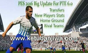 PES 2016 Big Update Option File For PTE Patch 6.0