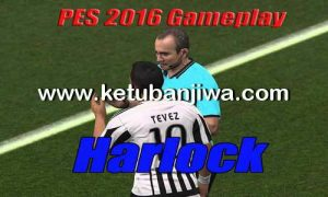 PES 2016 Final GamePlay by Harlock Ketuban Jiwa