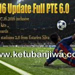 PES 2016 Full Update PTE Patch 6.0 by Hai Trangquoc