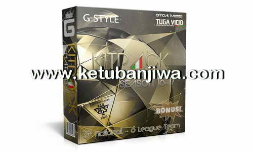 PES 2016 Kitpack National 4.0 AIO by G-Style Season 16-17 Ketuban Jiwa