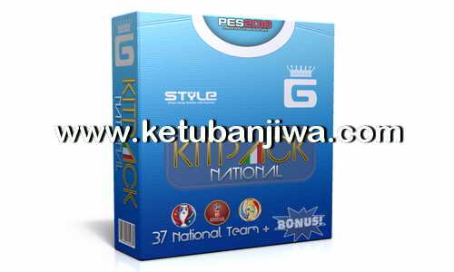 PES 2016 National Kits Pack 3.8 AIO by G-Style Ketuban Jiwa