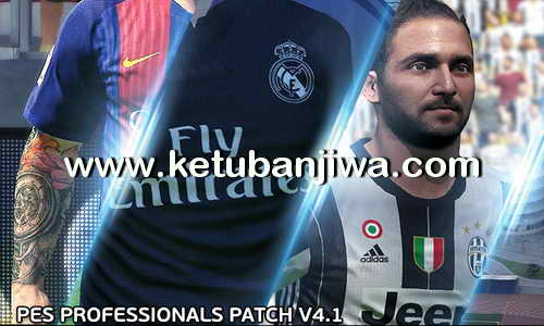 PES 2016 PES Professionals Patch 4.1 + Update Fix Ketuban Jiwa